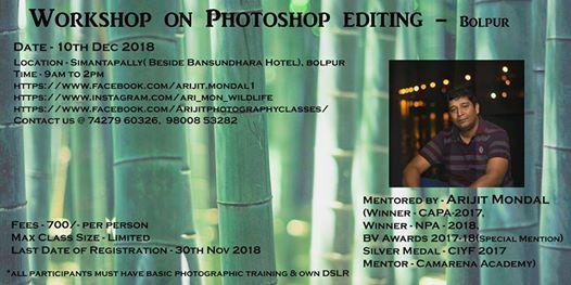 Photoshop Editing Workshop