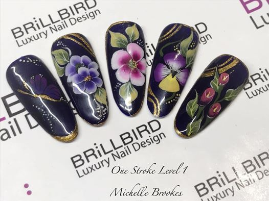 Brillbird One Stroke Nail Art Level 1 At Beauty Lounge Doncaster