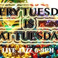 Faith Harris at EVERY Tuesday is FAT Tuesday Party