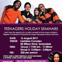 Teenagers Holiday Seminars