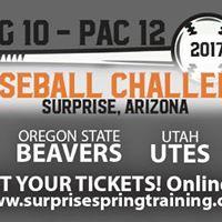 BIG 10 - PAC 12 Baseball Challenge - Utah vs. Nebraska