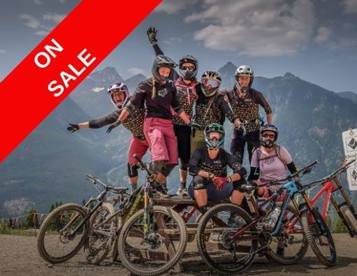 On Sale - All Ladies Mountain Biking Camp - Canmore