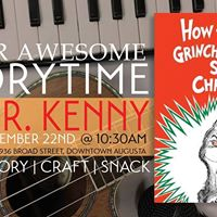 Super Awesome Storytime How the Grinch Stole Christmas