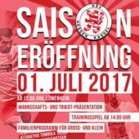 Saisonerffnung des KSV Hessen Kassel 20172018