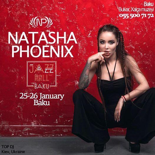 DJ Natasha Phoenix (Kiev Ukraine) - 25-26 January