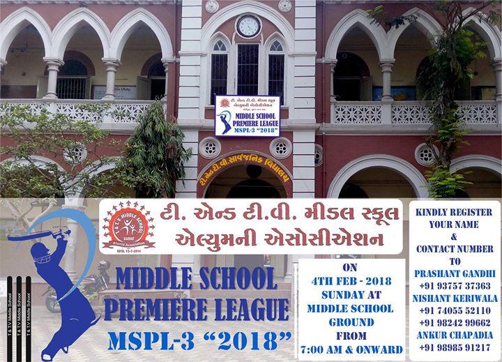 Mspl-2018 Middle School Premiere League