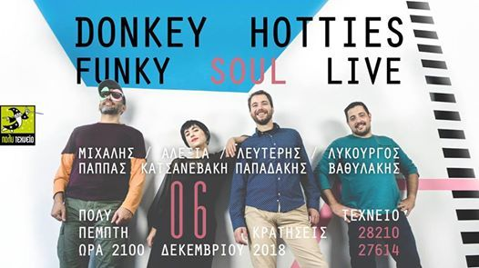 Donkey Hotties Funky Soul live