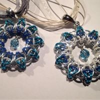 Chain Mail Jewelry - Pendant