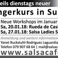 Workshop - Rueda de Casino - Samstag 20.01.2018