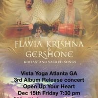 Flavia Krishna &ampGershone 3rd Album Open Up Your Heart Concert