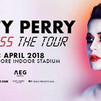 Katy Perry Witness The Tour 2018 Singapore