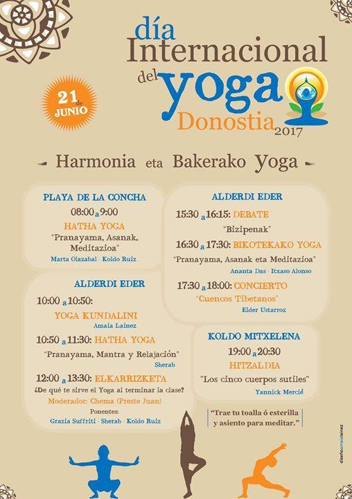 Da Interancional del Yoga