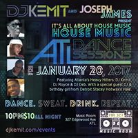 ATL Dance Sessions presents Its All About House Music
