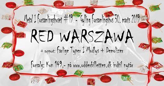 UDSOLGT  Red Warszawa  Farlige Typer I Modlys  Demolizer