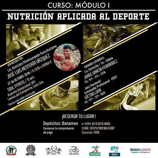 Nutrición Deportiva 1 Modulo At Soul Fitness Inc Guanajuato