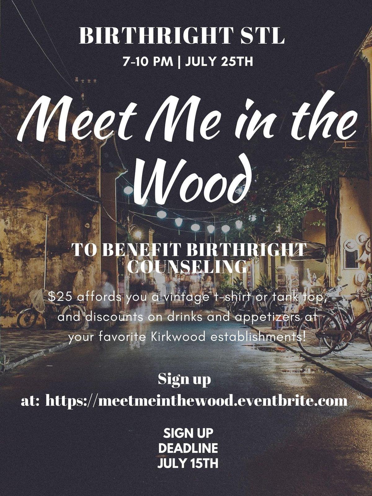 Meet Me in the Wood at Downtown Kirkwood SBD, Kirkwood