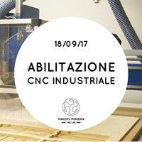 Abilitazione CNC industriale