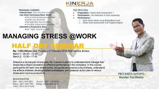 Managing Stress work - public class