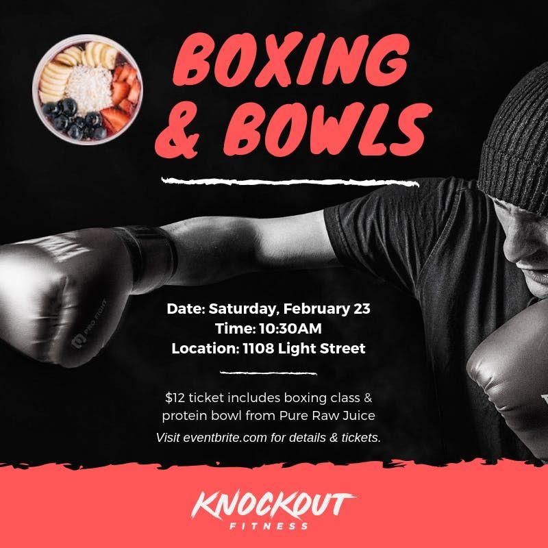 Boxing & Bowls
