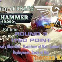 Round 4 KRAGS Champion of Warhammer 40k 2017