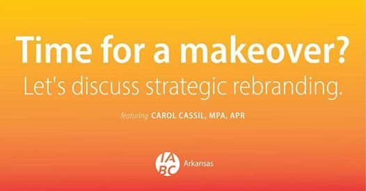 Time for a makeover Lets discuss strategic rebranding.