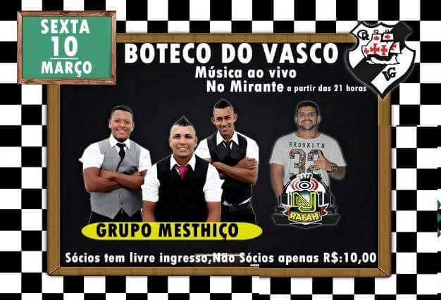 Boteco Do Vasco Samba De Roda Com Grupo Mesthiço at Clube Vasco da ... 9656995000e4f