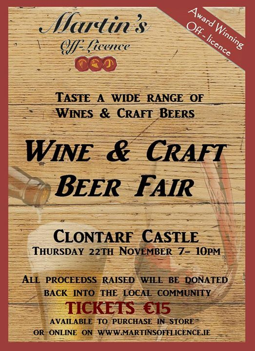 Martins Off Licene Wine & Craft Beer Fair
