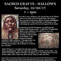 Sacred Crafts Hallows Dreamcatcher wMeredith