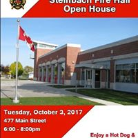 Steinbach Fire Hall Open House