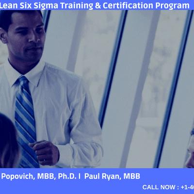 Lean Six Sigma Black Belt-4 days Classroom Training In OttawaON