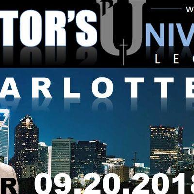 Pastors U Lectures Charlotte 2018