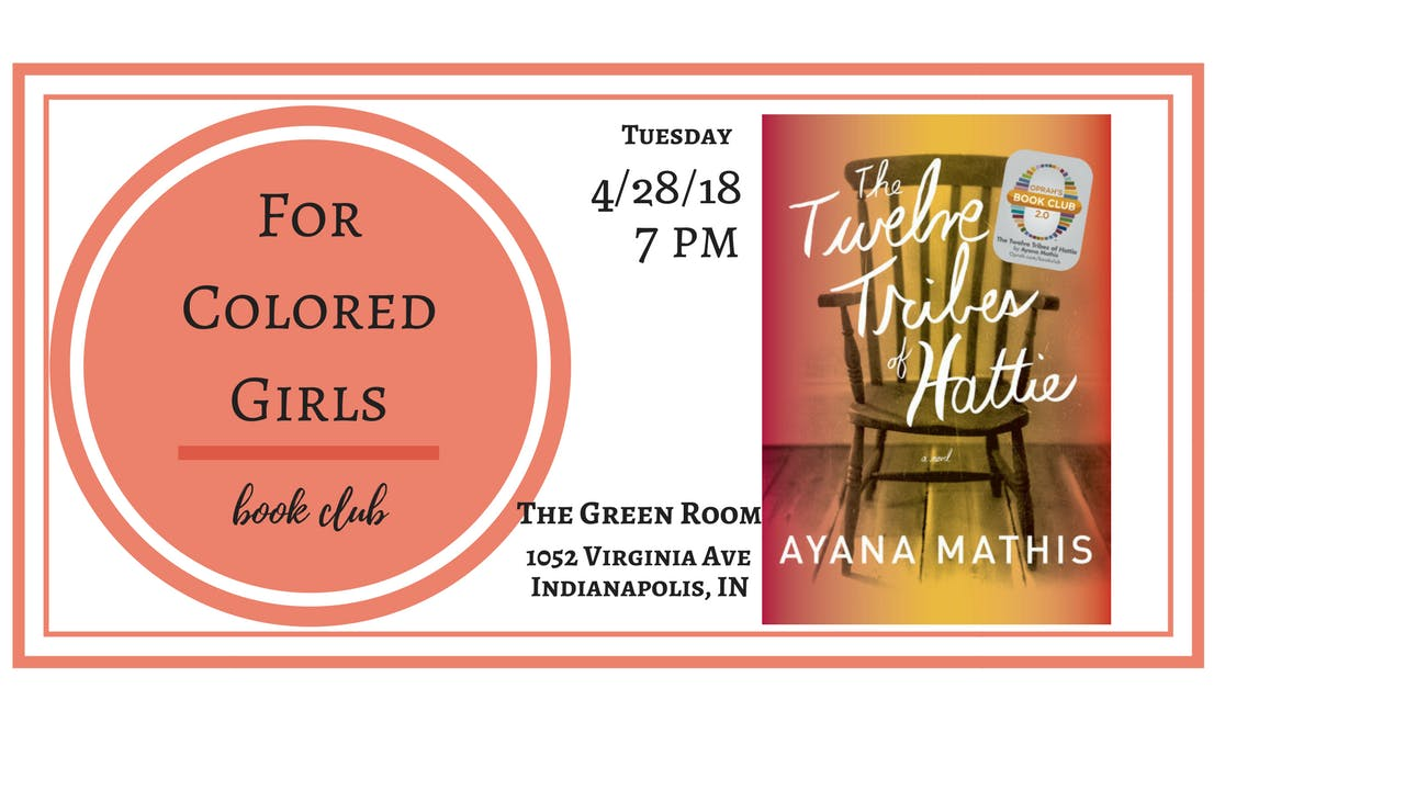 For Colored Girls Book Club: The Twelve Tribes of Hattie by Ayana ...