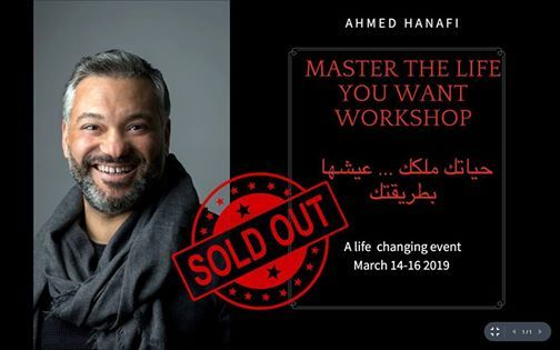 Master the life you want- Sold Out