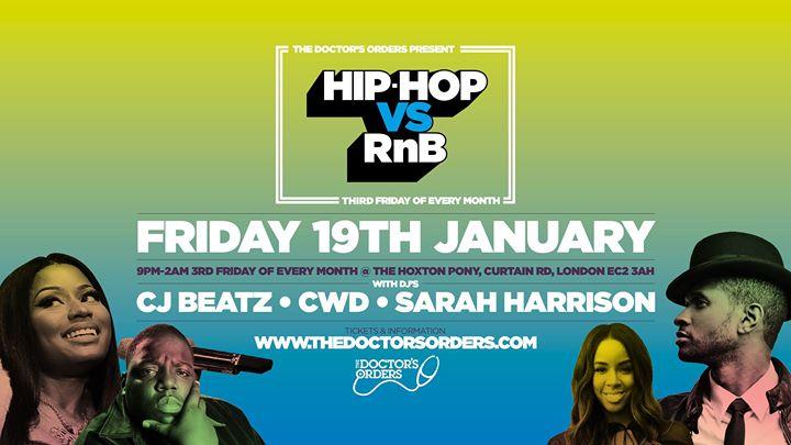 Hip-Hop vs RnB