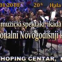 Tradicionalni Novogodisnji koncertTraditional New Year Concert