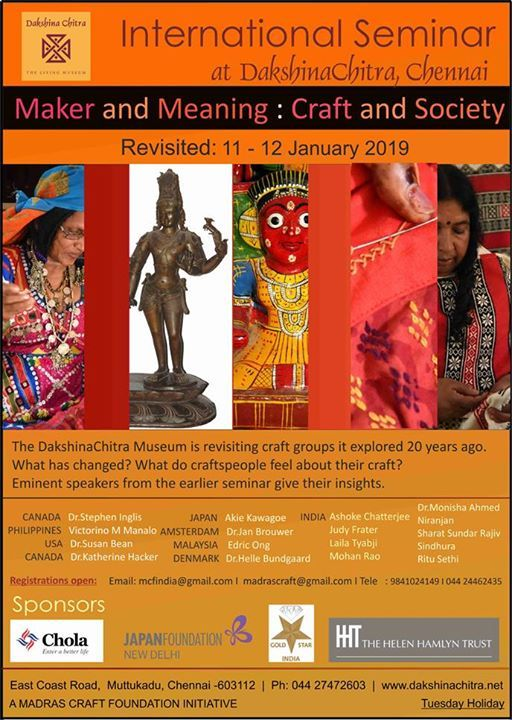 International Seminar at DakshinaChitra
