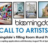Call to Artists The Bloomingdales Fitting Room Mural Project