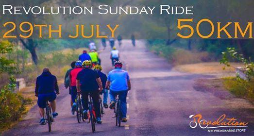 Revolution Sunday Ride -Half Century Ride