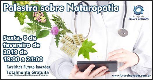 Palestra sobre Naturopatia