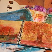 Mindful Art Journalling Taking a line for a walk