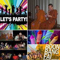 4th July BOON Bang Fai 17th Year Celebration Of Wat Montgomery