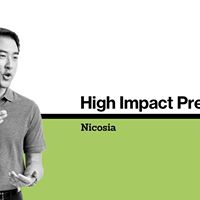 High Impact Presentations (Nicosia) 2 Days  April 2018