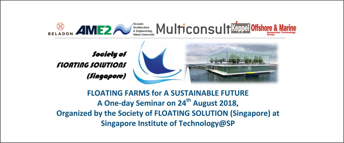 SSFS Seminar on Floating Farms for A Sustainable Future