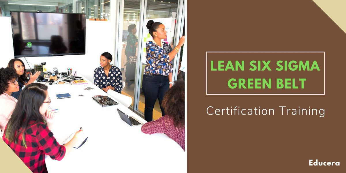Lean Six Sigma Green Belt (LSSGB) Certification Training in Columbia SC