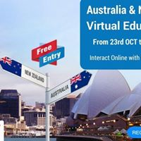 Australia New-Zealand Virtual Education Fair - 23rd OCT to 26th OCT