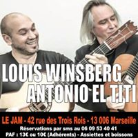 Concert Exceptionnel  Louis Winsberg &amp Antonio El Titi