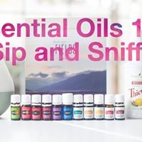 Essential Oils 101 - Sip and Sniff