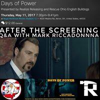 Days Of Power Screening - Akron Ohio