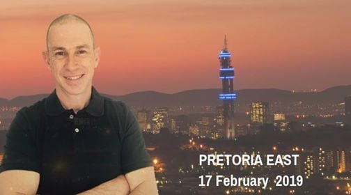 Sunday service with Ps Francois van Niekerk HopeEvent 17 Feb19