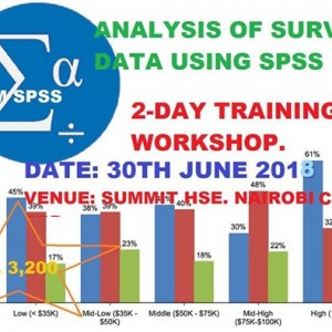 Analysis of Survey Data Using SPSS Software